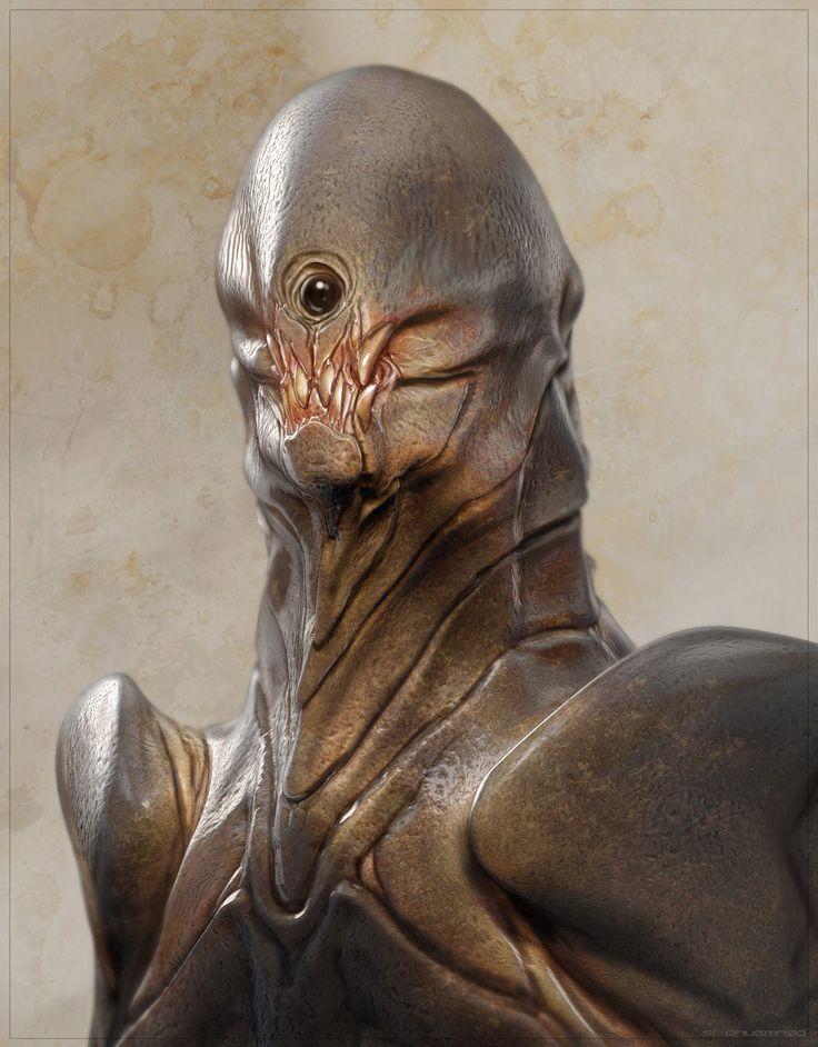 concept aliens: Concept aliens by Ben Mauro