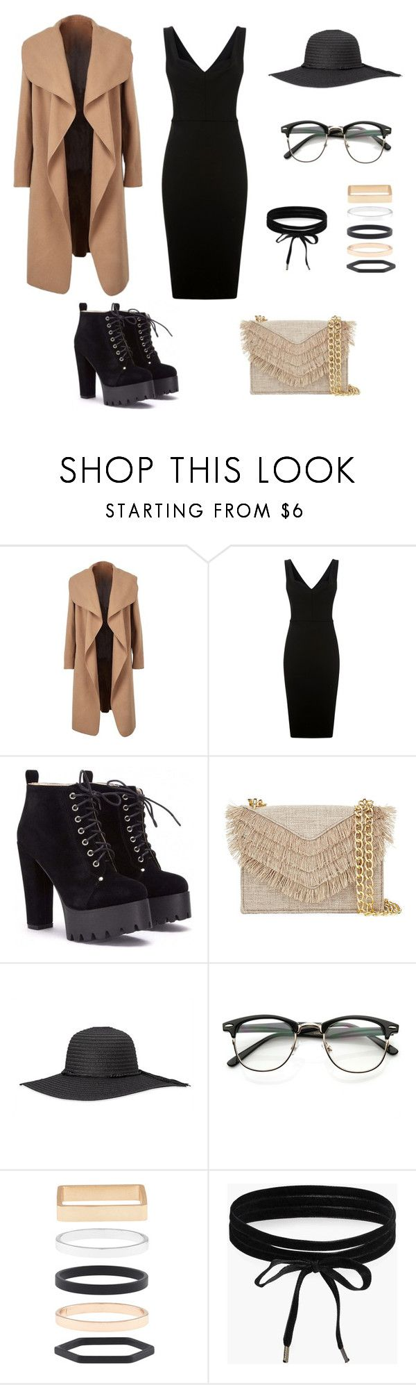 """""""Untitled #1"""" by boglarka-ferencsak ❤ liked on Polyvore featuring Victoria Beckham, Cynthia Rowley, Accessorize and Boohoo"""