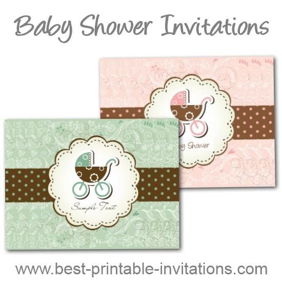 106 best Free - Printables parties - Baby Shower images on - free baby shower invitations templates printables