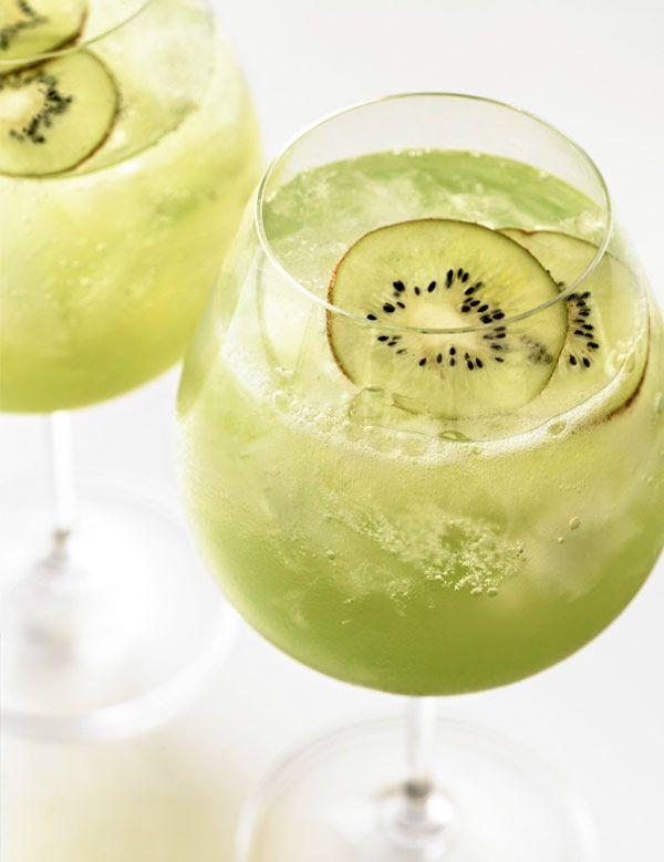 Kiwi Vodka cocktail..  Well worth the effort...   #drink #alcohol