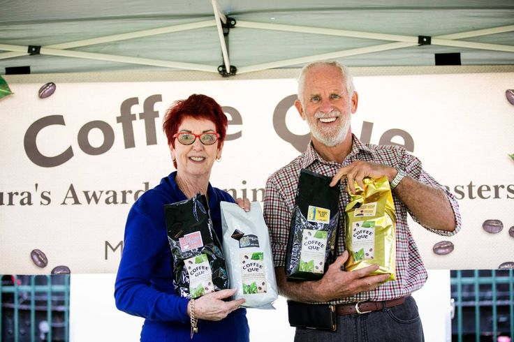 Looking for passionate local coffee roaster gurus? You will find Coffee Que at the Sunraysia Farmers Market.