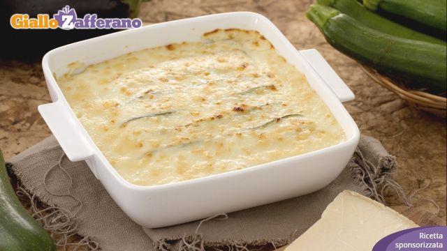 Ricetta Parmigiana bianca di zucchine - Le Ricette di GialloZafferano.it