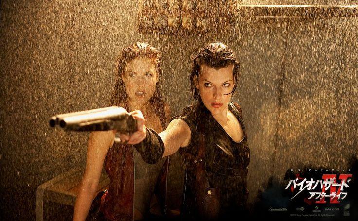 Ali Larter Resident Evil Afterlife HD Wallpaper