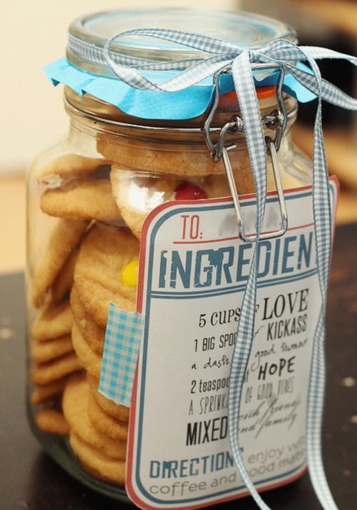 //awesome pick-me-up printable cookie jar labels.