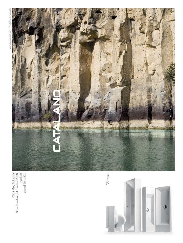 Advertising Catalano, Domus 2008