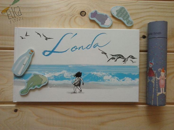 L'onda, di Suzy Lee, Edizioni Corraini. Albo illustrato per bambini, spiagge, mare, estate, amicizia.