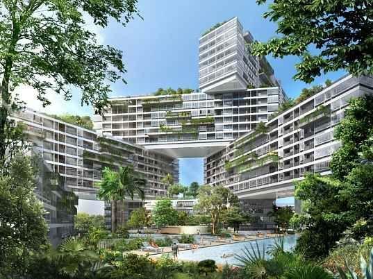 Výsledek obrázku pro singapore garden skyscraper