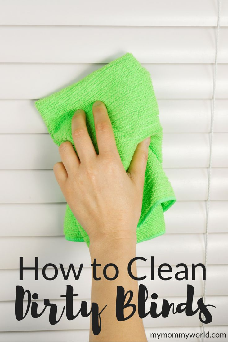 Most of us probably don't notice how dusty and dirty our blinds can get, but they do need cleaning. Learning how to clean dirty blinds is simple and easy.