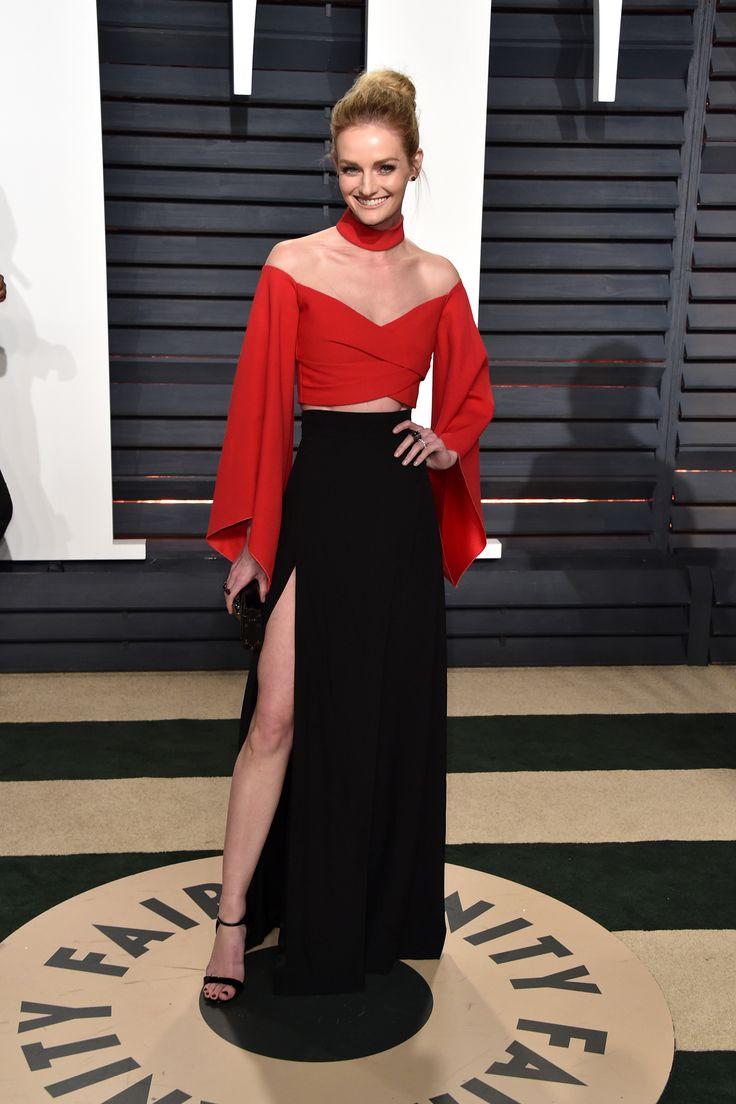Lydia Hearst, 2017 Vanity Fair Oscar Party