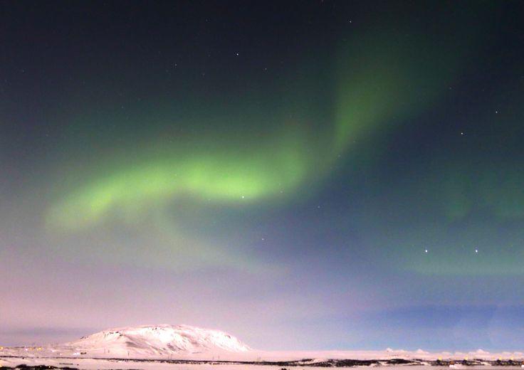 Aurora borealis infront of my eyes