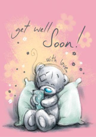 """♥ Tatty Teddy ~ """"Get Well Soon"""" ♥"""