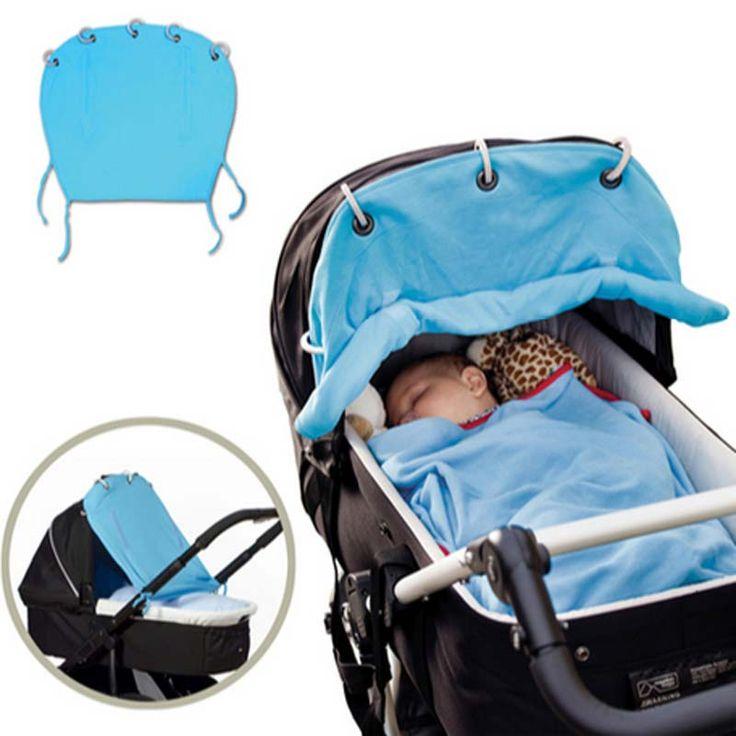 Kinderwagen Zubehör Baumwolle Kinderwagen Sonnenschirm Tuch Vorhang Für Kinderwagen Kinderwagen Sonnenschirm Buggy Überschirmungsgrad