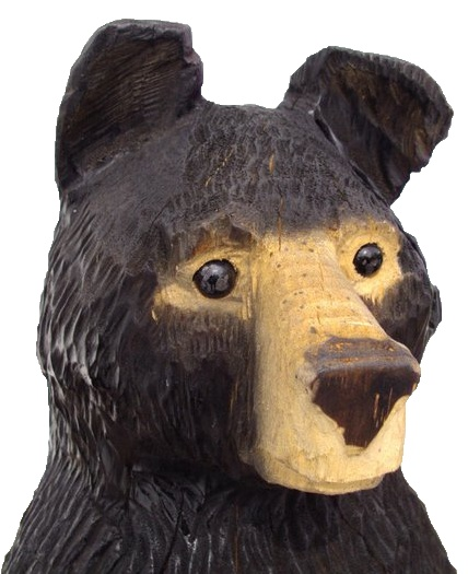 Burns bears maine chainsaw carving this guy is awesome