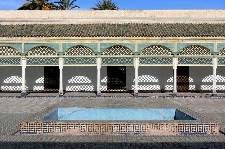 https://flic.kr/p/RfitUC | MARRAKECH (Maroc). Marrakech-Tensift-Al Hauz. 2006. Palais de la Bahia. Detalle.