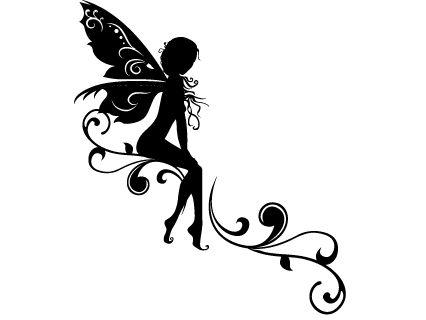 Les 146 meilleures images propos de tatouage sur - Fee clochette assise ...
