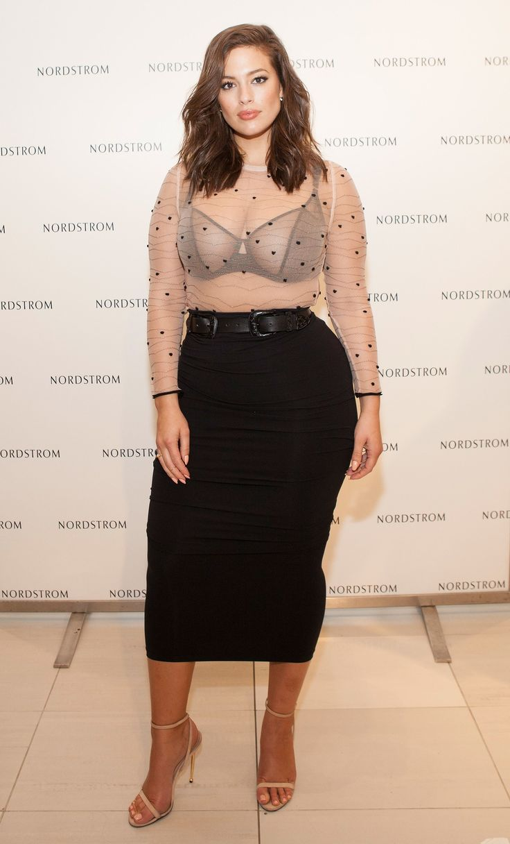 Ashley Graham's Style Evolution Involves Plenty of Naked Dresses and C Photos | W Magazine
