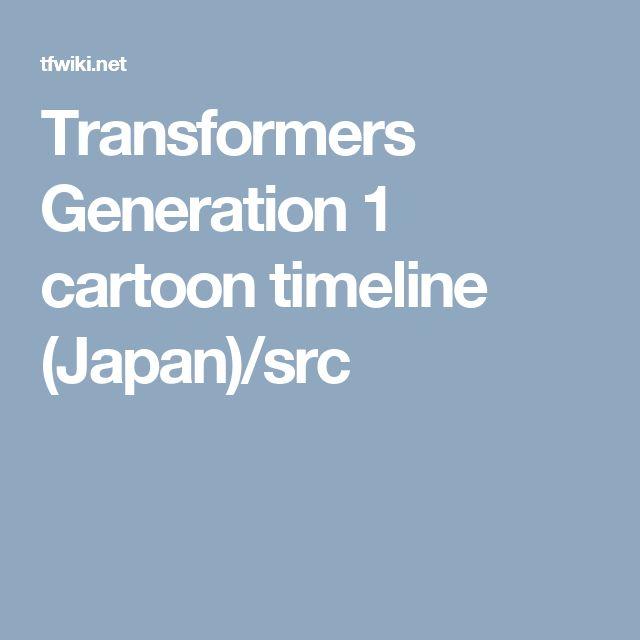 Transformers Generation 1 cartoon timeline (Japan)/src