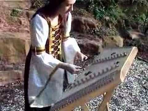 Listen to this hammered dulcimer player. She is extraordinary!