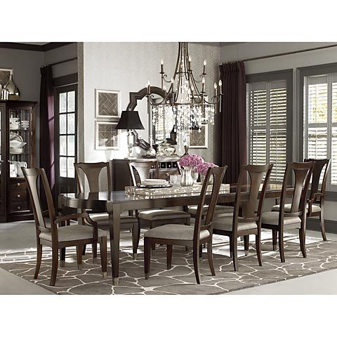 47674278 By Bassett Furniture In Poplar Bluff, MO   Cosmopolitan  Rectangular Dining Table