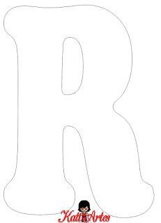 Alfabeto en blanco.