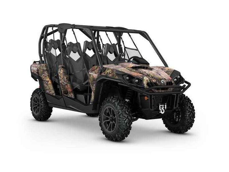 New 2016 Can-Am Commander MAX XT 1000 Camo ATVs For Sale in Colorado. 2016 Can-Am Commander MAX XT 1000 Camo, Get equipped for off-road adventure with more standard features and added value. Take advantage of the Can-Am exclusive Tri-Mode Dynamic Power Steering (DPS), a 3,000 pound winch, and heavy-duty front and rear bumpers that are ready to take on every adventure.