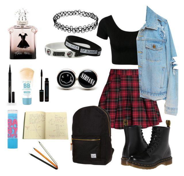 School Day   Pinterest   Herschel Maybelline and Grunge
