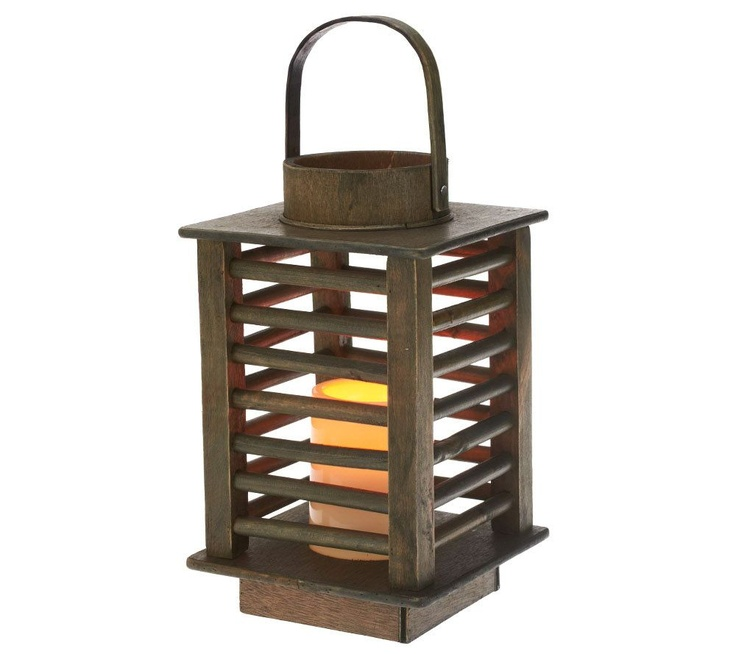 Qvc Outdoor Wall Lights: 1000+ Images About Toti Wood Lantern On Pinterest