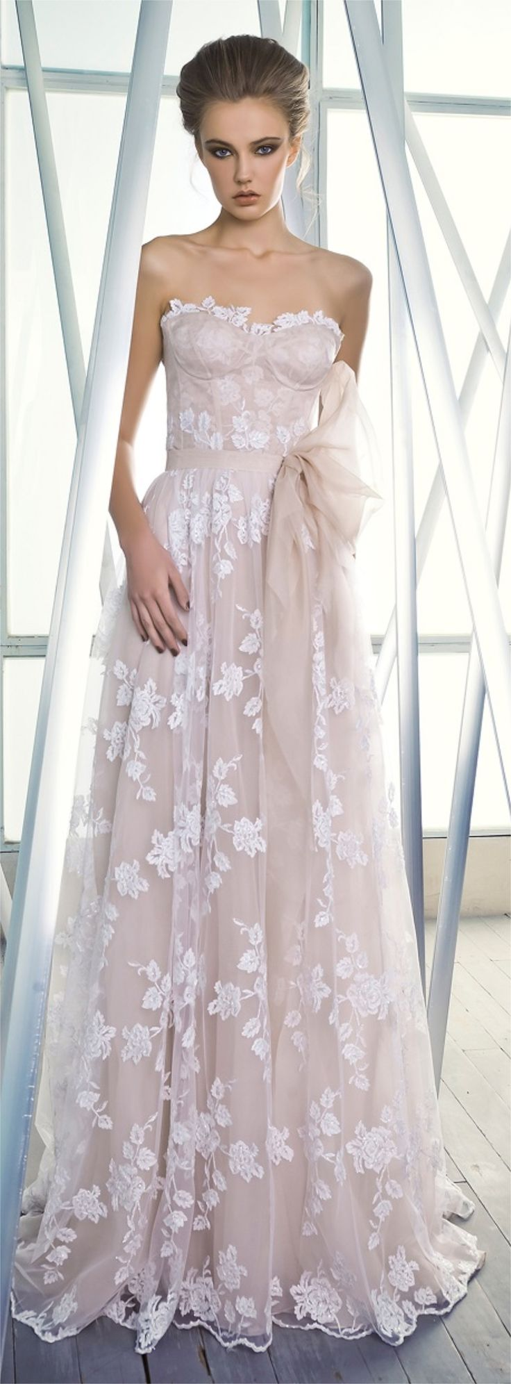 Mira Zwillinger - Charlotte | Would you stray away from the traditional wedding gown with this gorgeous dress?