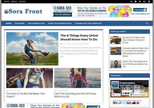 Sora Front Blogger Template Blogger Template Without Footer Credit Paid Blogger Templates Free Download Blogger Templates Without Copyright