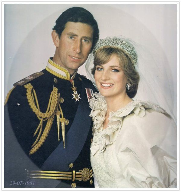 Portraits du mariage _ The Wedding of Lady Diana Spencer & Charles - 29 juillet 1981