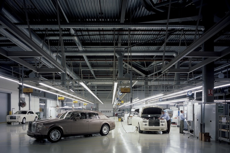 Rolls Royce Manufacturing Plant Headquarters West Sussex Uk Factory