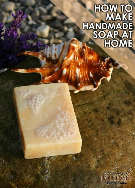 how to make soap oil at home