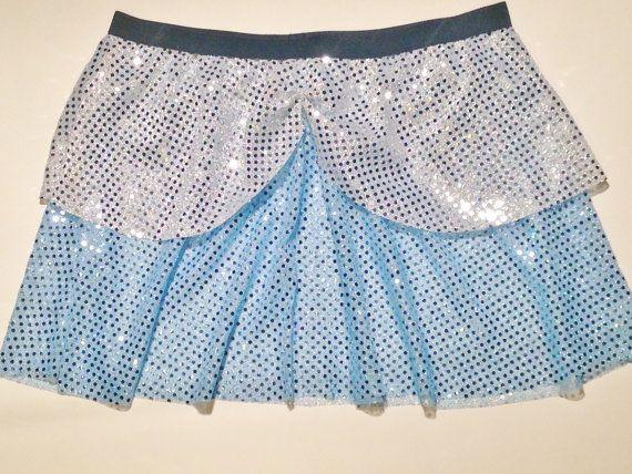 Cinderella Inspired Running Skirt by RockCitySkirts on Etsy, $28.00