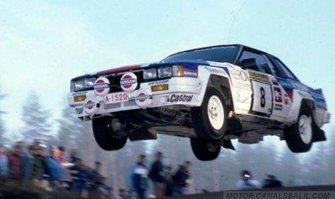 Timo Salonen - Seppo Harjanne  33º Rally 1000 Lagos 1983. Nissan 240RS. Clasificado 8º.