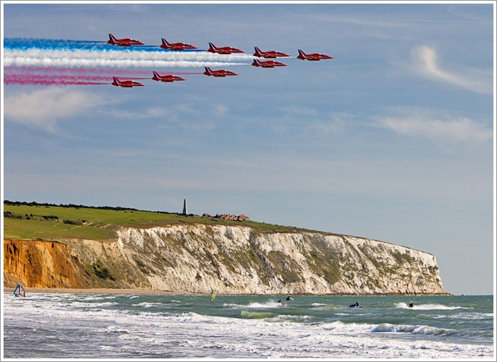 The Red Arrows * Sandown * Isle of Wight