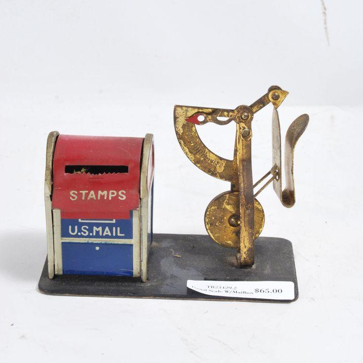 Postal Scale W/Mailbox