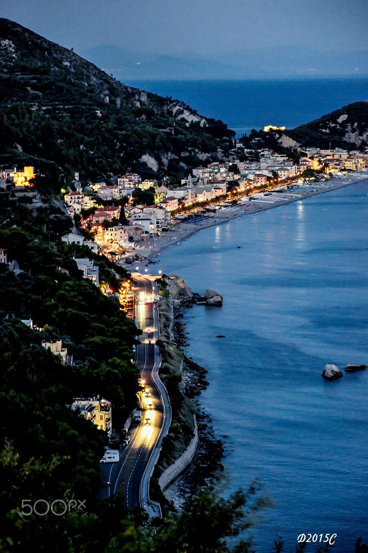 Varigotti by night !! by Daniele Ciccardi - Photo 125755329 - 500px (Italy)