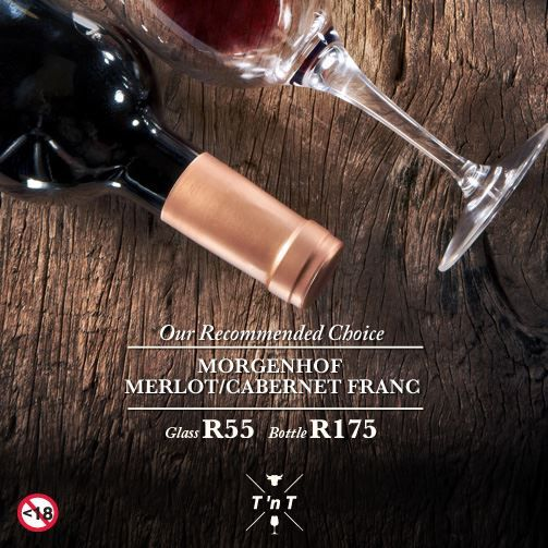 Att. JHB: Celebrate your birthday with Turn 'n Tender (JHB) during the month of July and you will receive an empty bottle of Morgenhof Merlot/Cabernet Franc. Present this bottle on your next visit and you will receive a full bottle on the house when you purchase a meal.