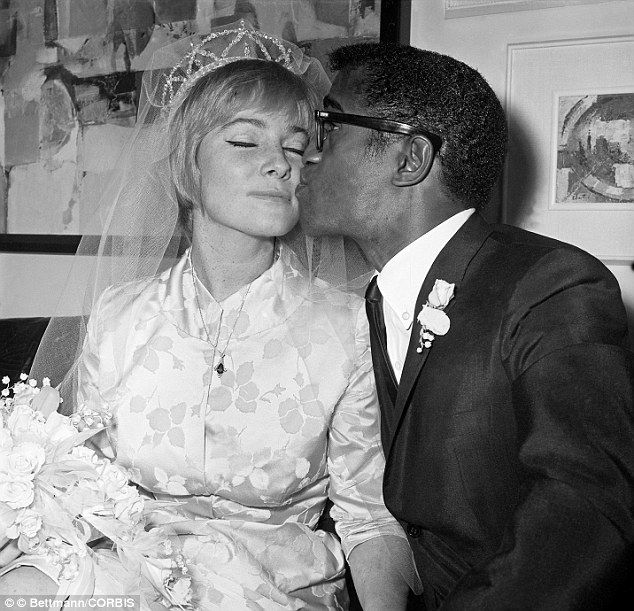 Sammy Davis Jr. endured being called 'boy, 'c**n' and the N-word. But his greatest humiliation came when JFK refused to let star perform at the inauguration after he married a white woman. Sammy Davis Jr. waited until a week after the 1960 presidential election to marry Swedish actress May Britt.