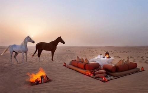 Romance in the Desert, Saudi Arabia.