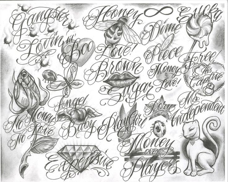 Gangster Tattoo Drawings | trelatatoo-tattoo flash tattoo design art free download designs