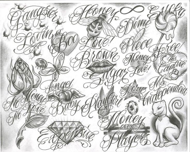 Gangster Tattoo Drawings | trelatatoo-tattoo flash tattoo design art free download designs