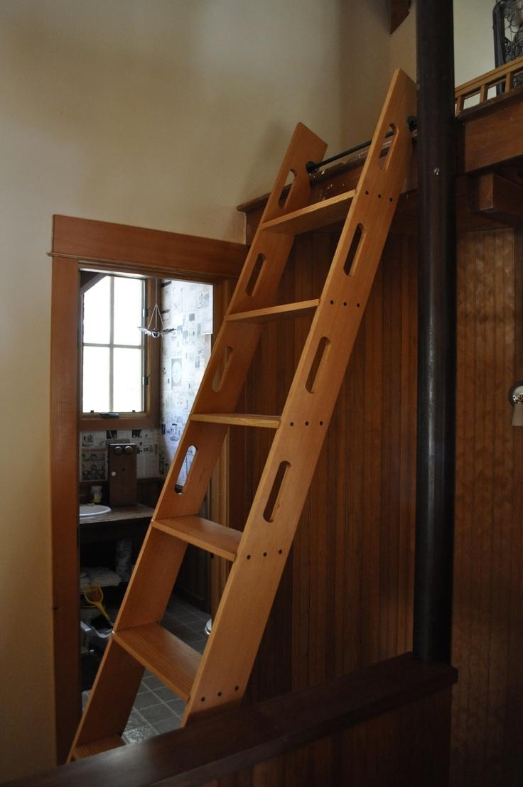 Handmade Attic Access Ladder By Blake Underwood