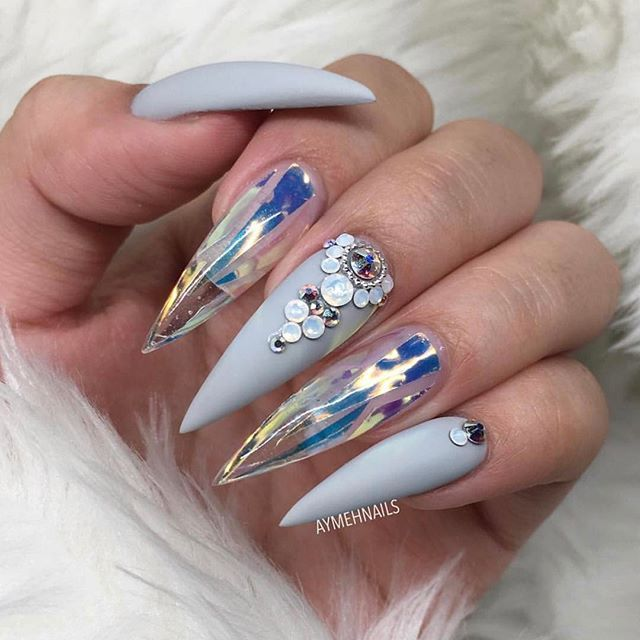 17 Best Ideas About Stiletto Nail Designs On Pinterest