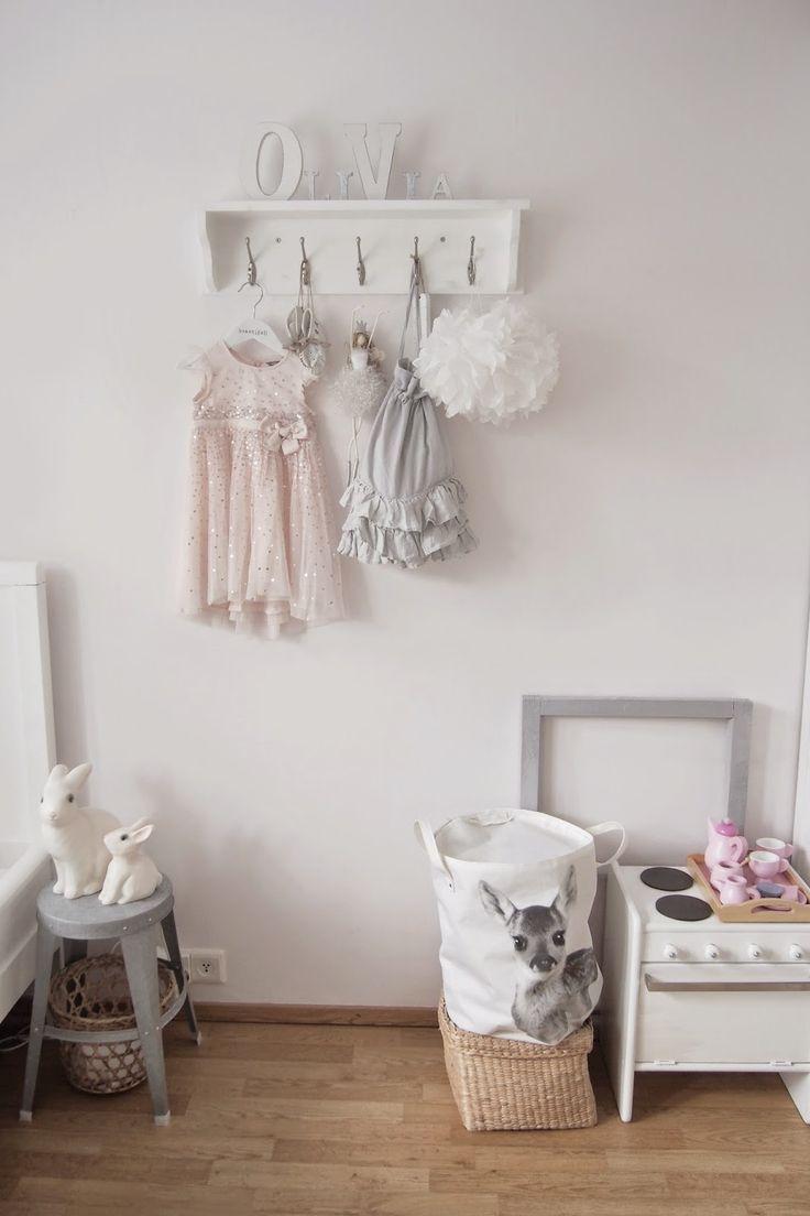 GreyWhiteHeart: Kids room. Scandinavian bedroom. Lastenhuone.
