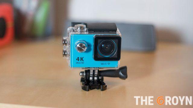 Eken H9 análisis de una cámara de acción ultra-económica en The Groyne