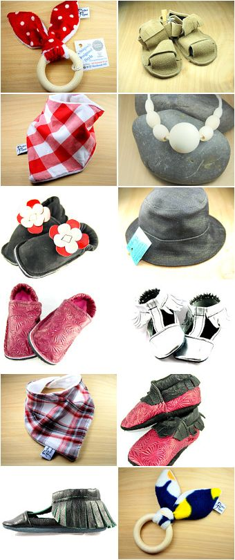 baby moccasins, nursing necklaces, shoes, hats, denim, sandals, teethers, kids shoes, baby shoes