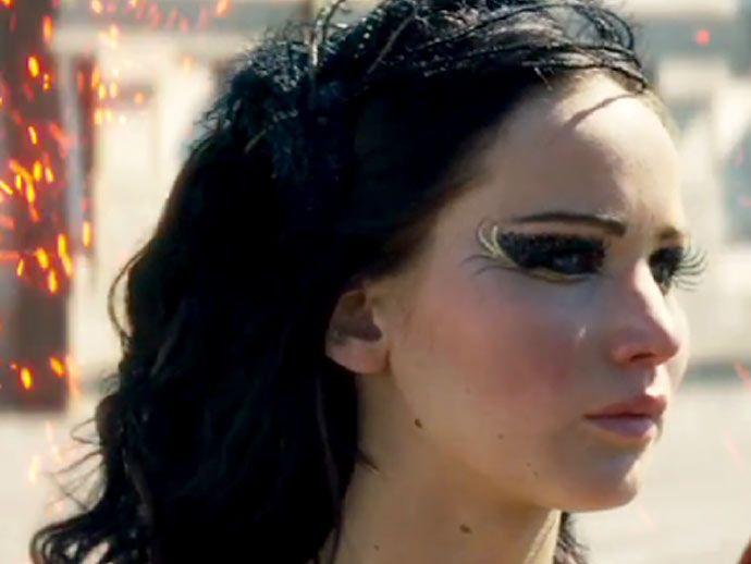 Catching Fire Katniss Makeup Art