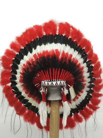 » CHOCTAW INDIAN HEADDRESS WAR BONNET | Under One Nation Tribe Trading Post