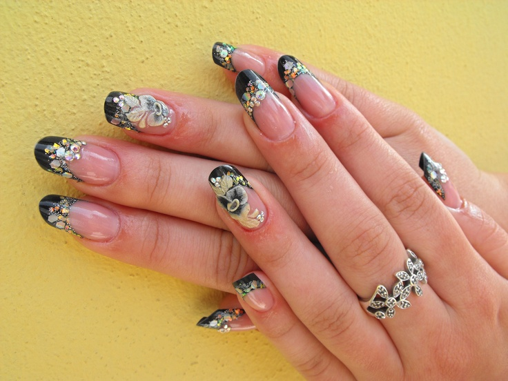 black #nails